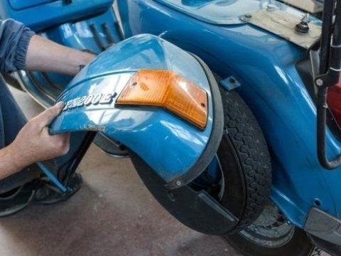 Restauro moto e ciclomotori d'epoca