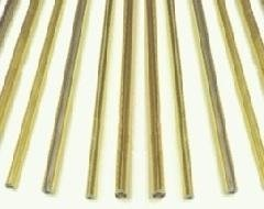 copper-coated lead sections