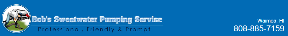 Bob's Pumping Service logo