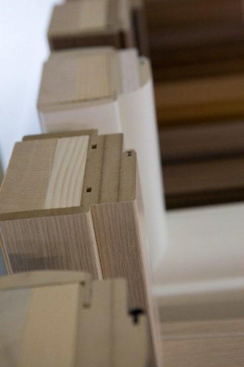 i materiali utilizzati per i serramenti sono di alto valore qualitativo