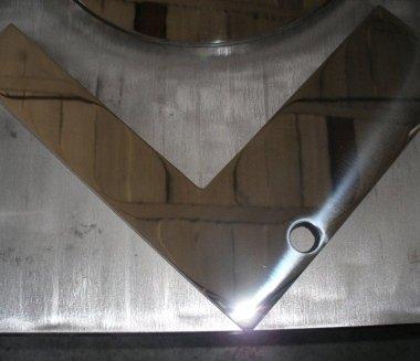 Particolare acciaio