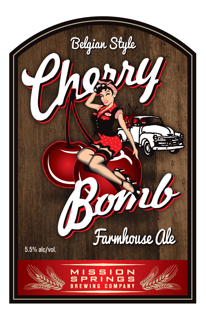 Cherry Bomb Farmhouse Ale