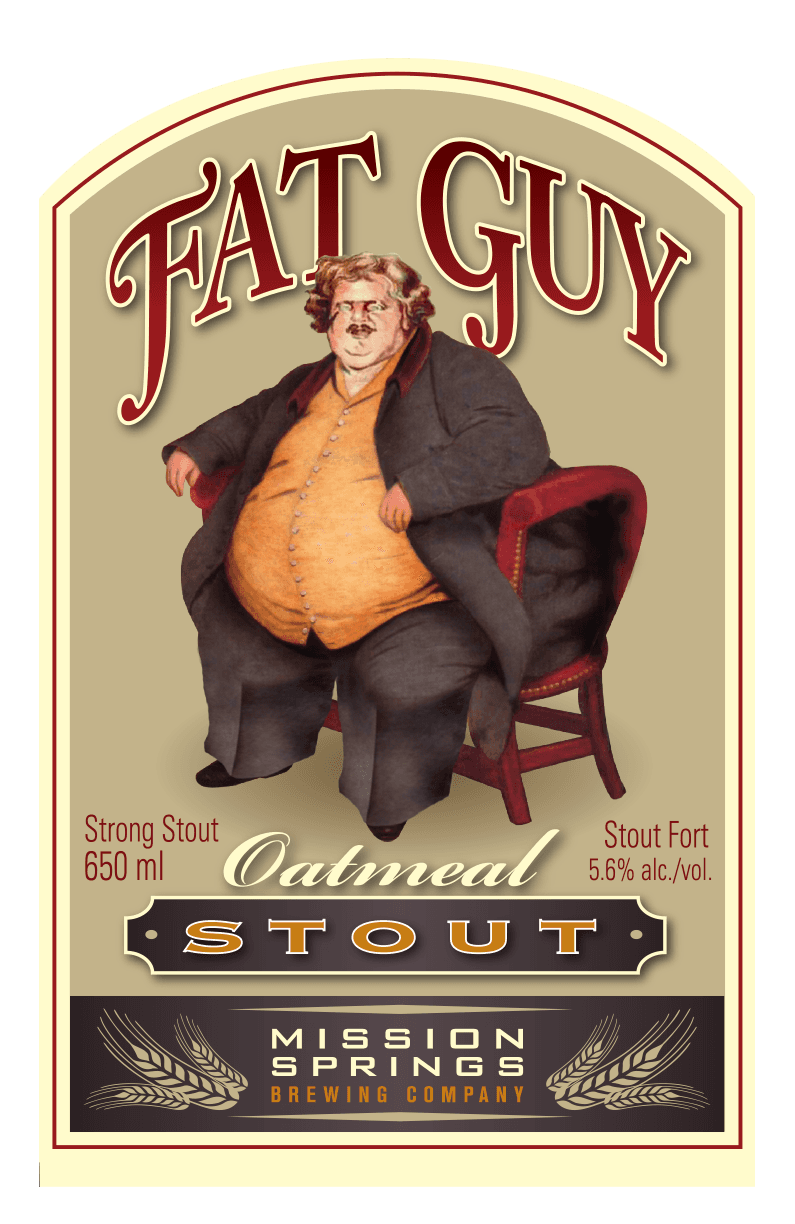Fat Guy Oatmeal Stout