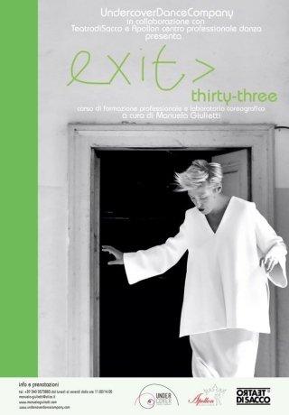 EXIT THIRTY THREE. CORSO DI FORMAZIONE PROFESSIONALE