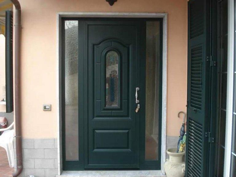 porta ingresso alluminio