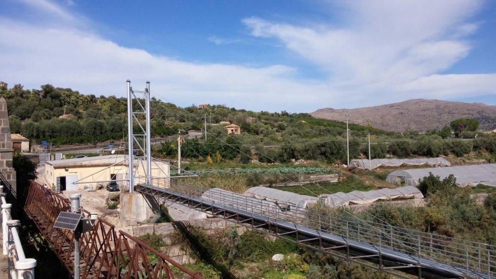 Ponte strallato in acciaio inox