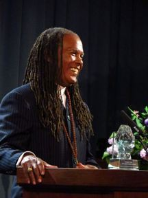 Rev. Dr. Michael Bernard Beckwith at the Humanity's Team 2015 Spiritual Leadership Awards