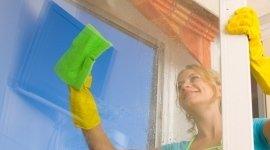 pulizia vetri, vetri lucenti, igienizzazione locali