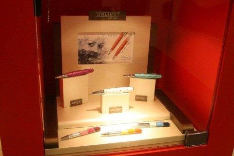 penne colorate svaroski