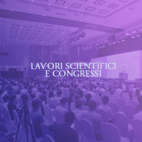 lavori scientifici e congressi
