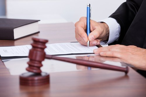 Attorney working on a legal case in West Plain, MO