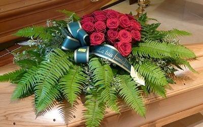 addobbi floreali cassa