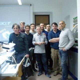 Corso stratificazione su zirconio con Noritake CZR Torino 2015
