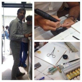 Corso di pittura su zirconia Torino 2014