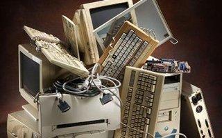 raccolta parti elettroniche