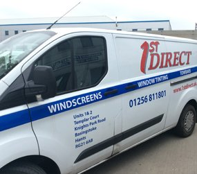 1st Direct Windscreens van