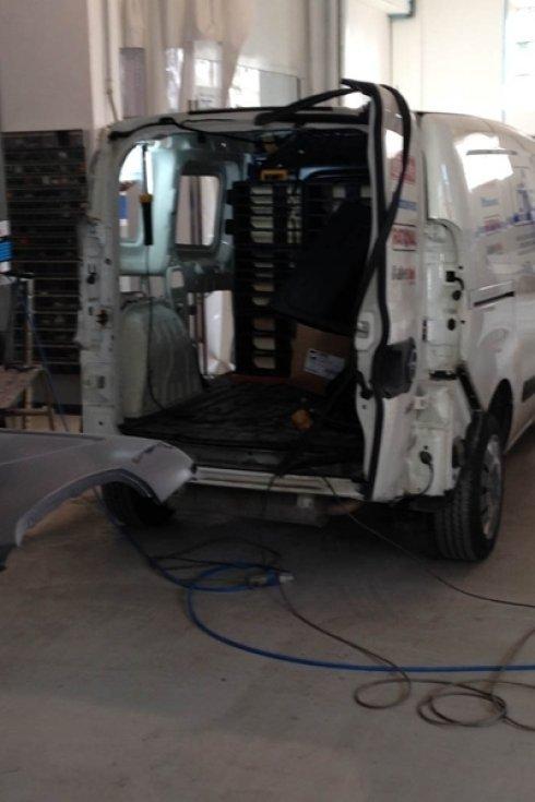 riparazione furgoni