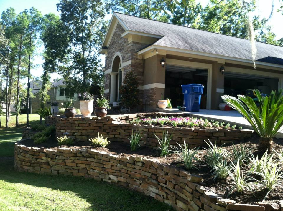 Landscaping Design, Conroe & Spring, TX - Landscaping Contractor & Lawn Care Services Landscaping Design