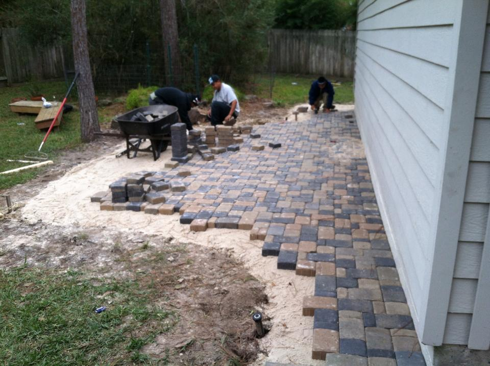 Patio Landscaping & Construction in Spring & Conroe, TX - Landscaping Contractor & Lawn Care Services Landscaping Design