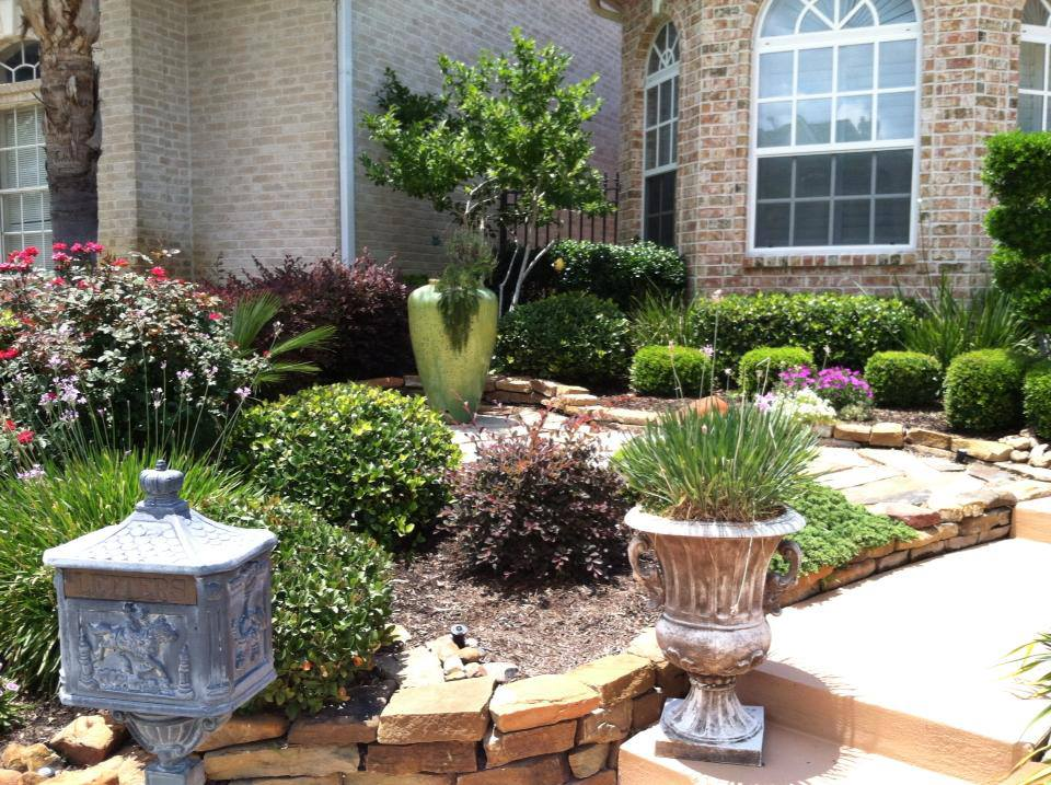 Landscaping Contractor in Spring & Conroe TX - Lawn Care & Drainage System Services Conroe & Spring, TX, Patio