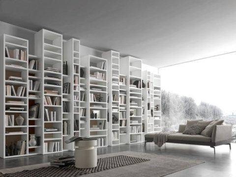 Zona giorno crotone studio architetture d costantino for Presotto industrie mobili spa