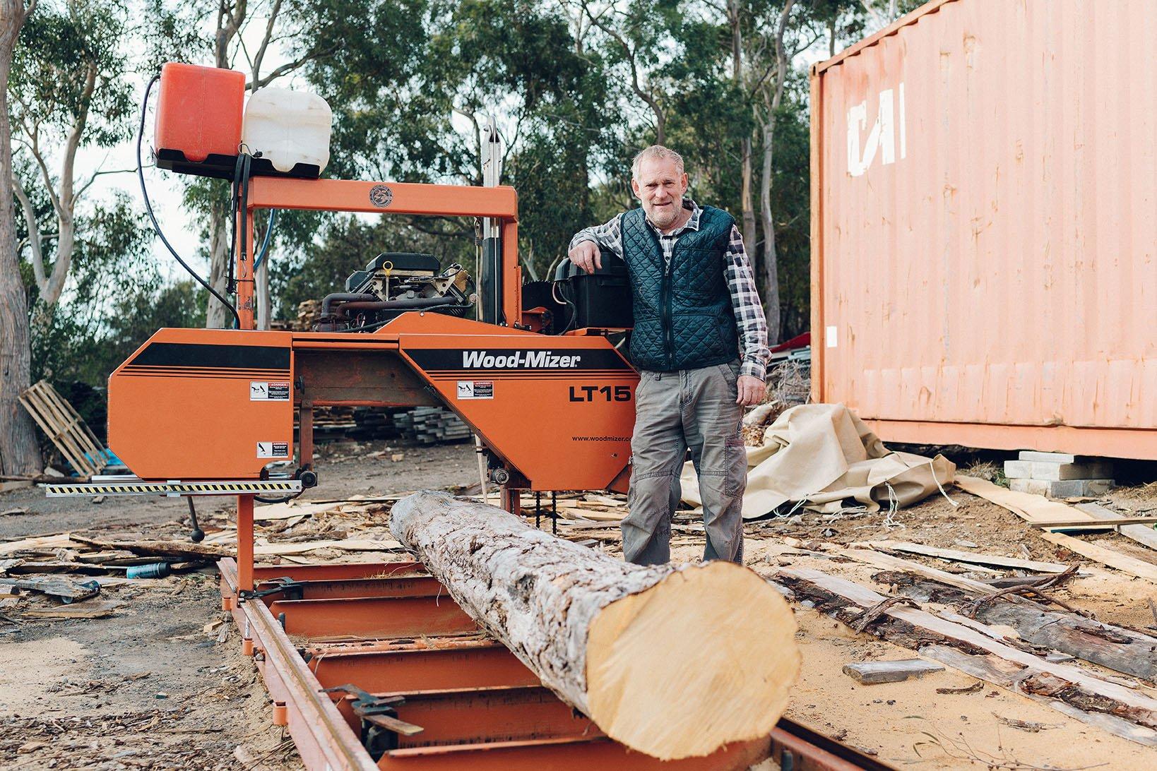 Portable Sawmills and Wood Processing Equipment | Wood-Mizer Australia