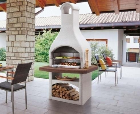 Installazione barbecue