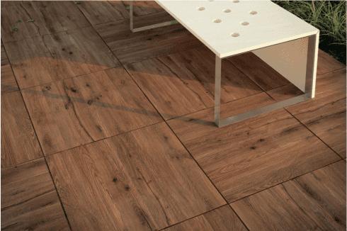 Pavimento esterno effetto legno