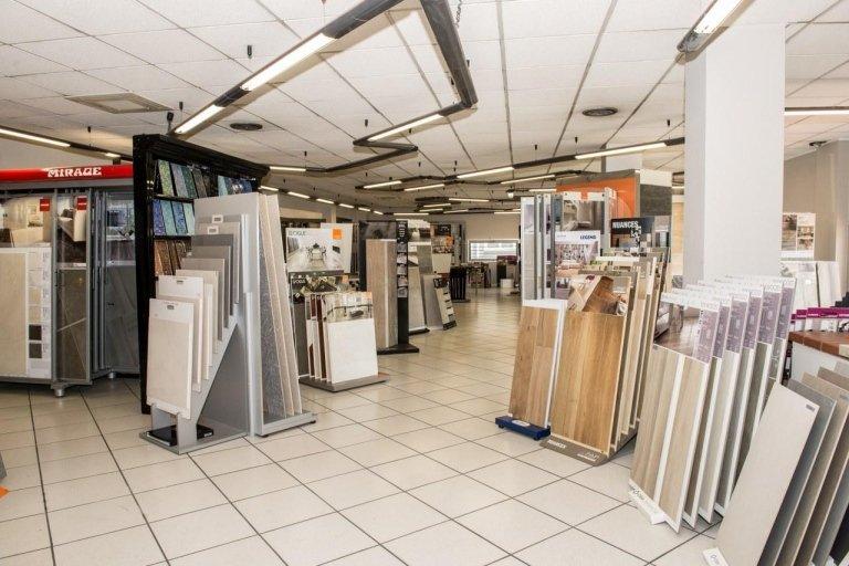 esposizione showroom