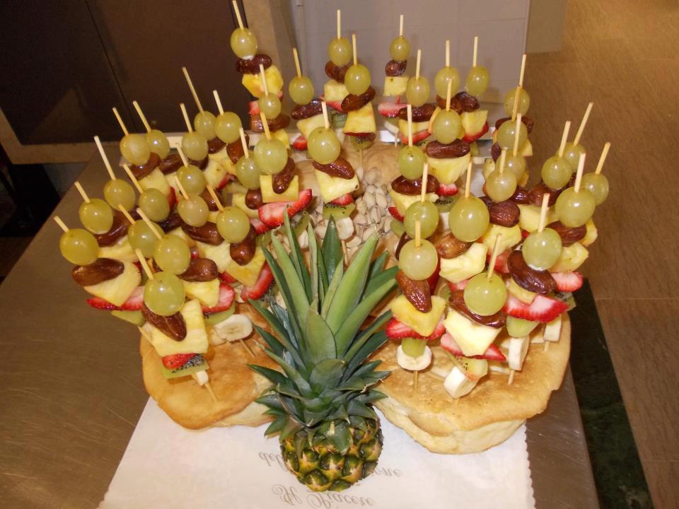 banchetto con ananas