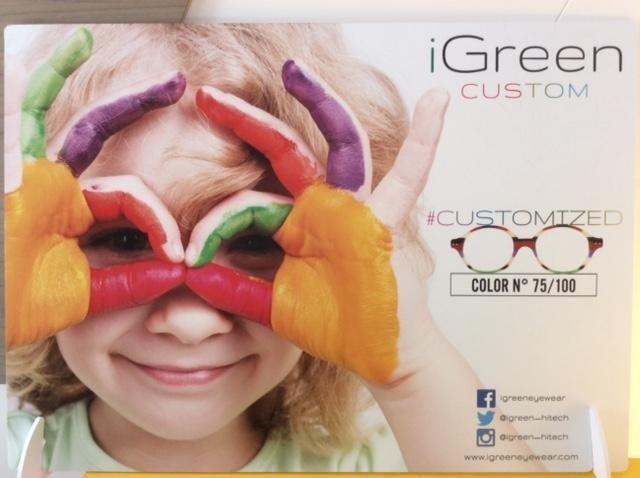 occhiali per bambini igreen