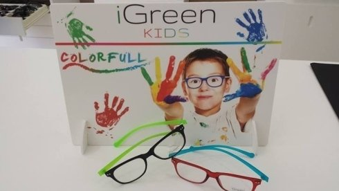 I nuovi iGREEN coloratissimi personalizabili e i più leggeri in circolazione anche per bambini all