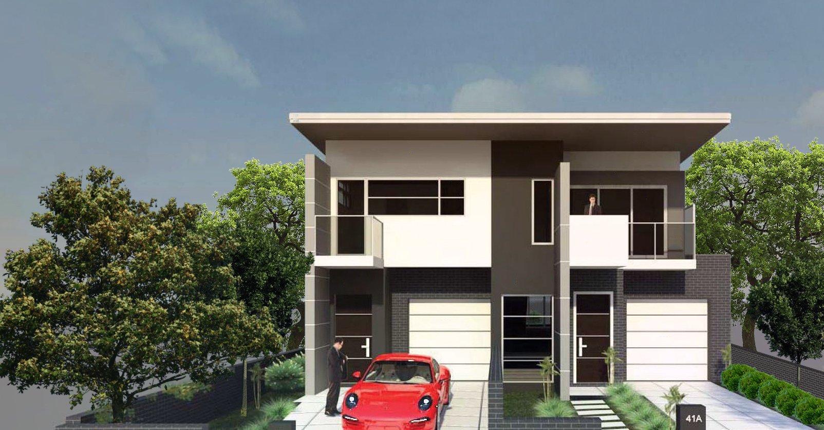 The Bangor Duplex Home Design Construction