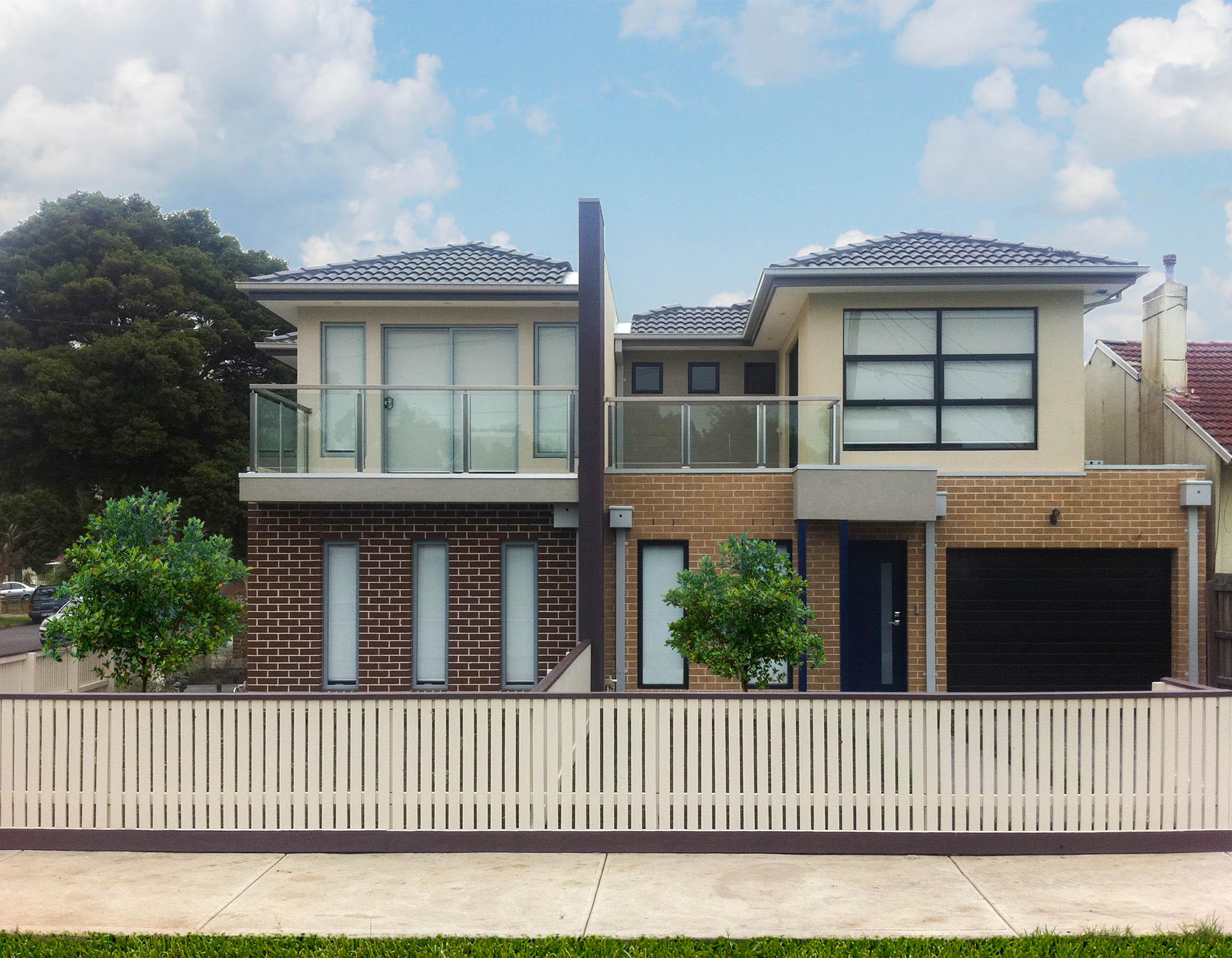 The Daisy Duplex Home Design Construction