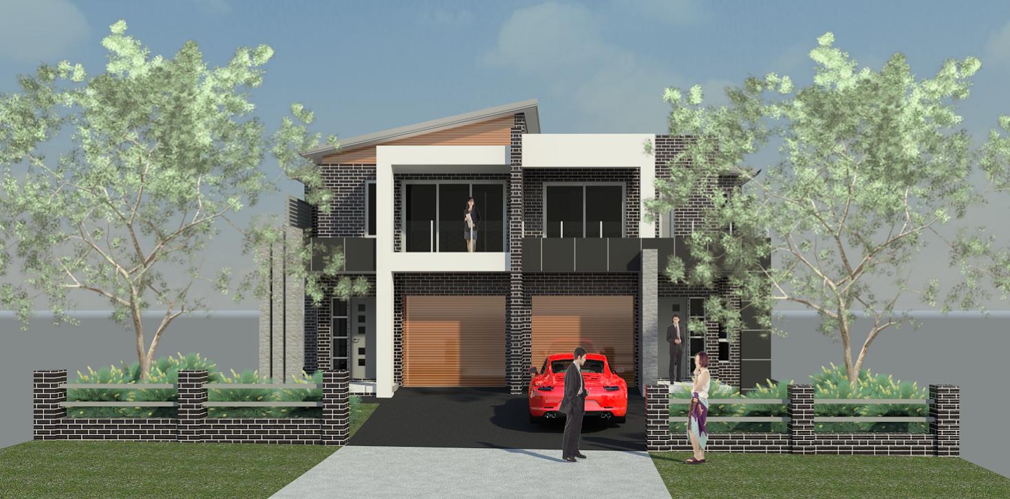 The Tulip Duplex Home
