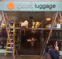 global luggage banner