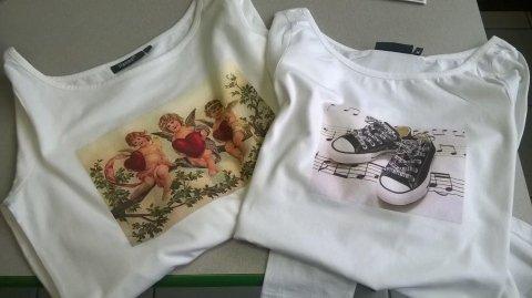 stampa serigrafica su maglietta