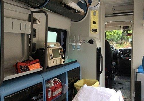 defibrillatore ambulanza
