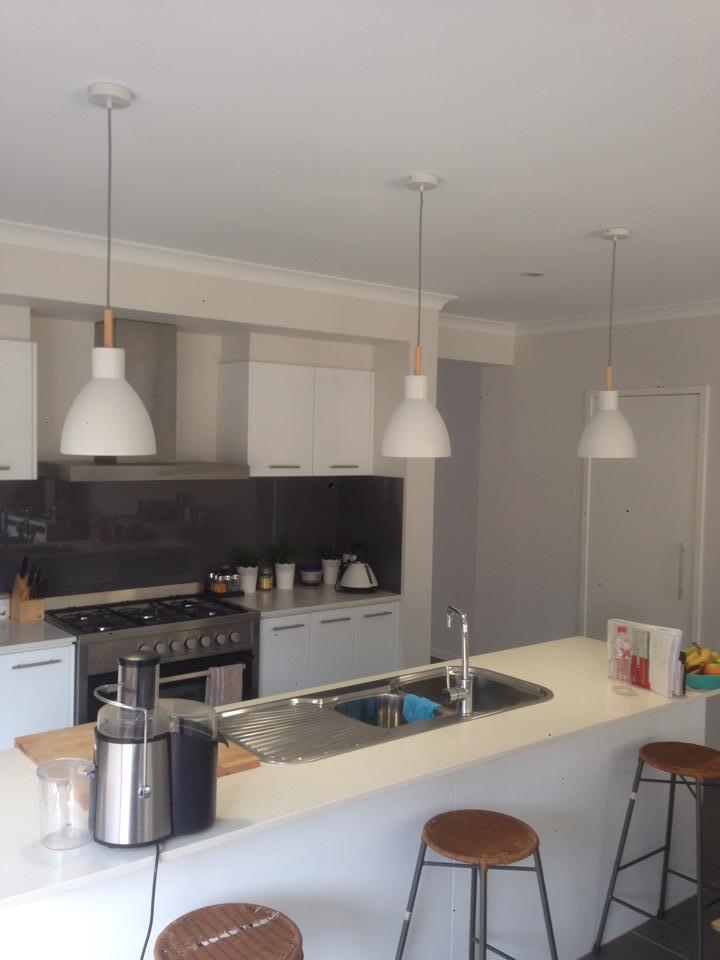 domestic lighting project