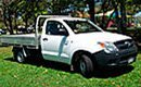sugarland car rentals toyota hilux single cab