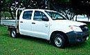 sugarland car rentals toyota hilux dual cab