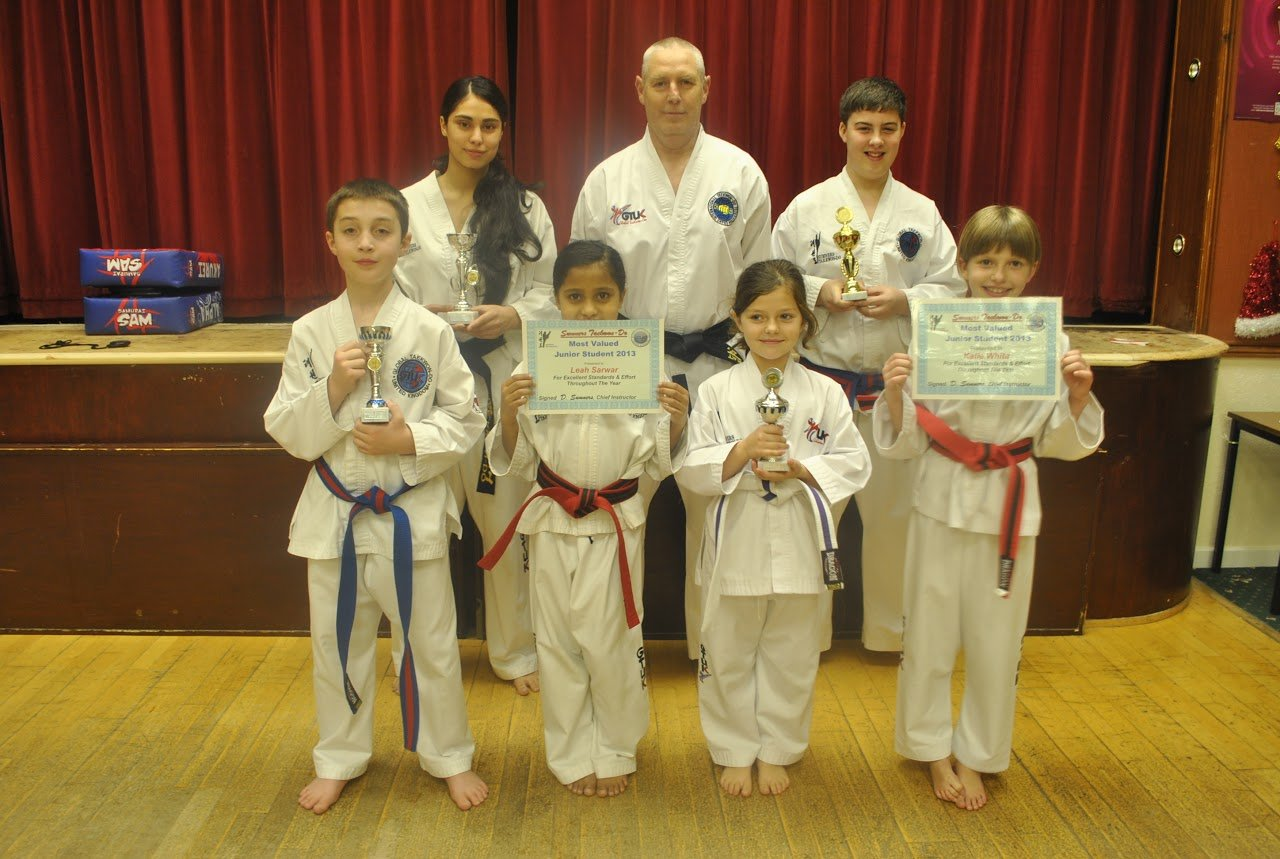 certification of junior martial arts students