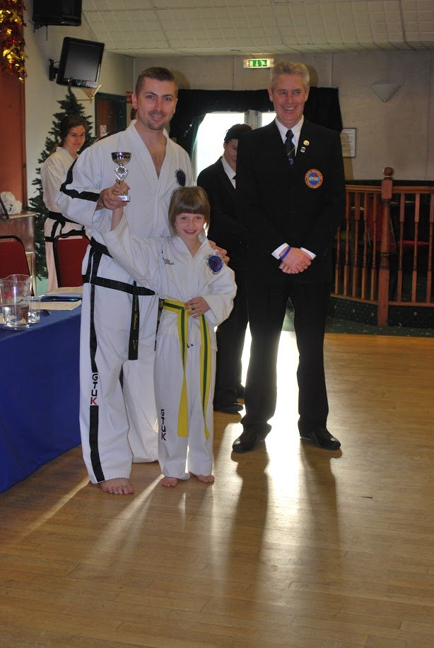 junior martial arts competition winner