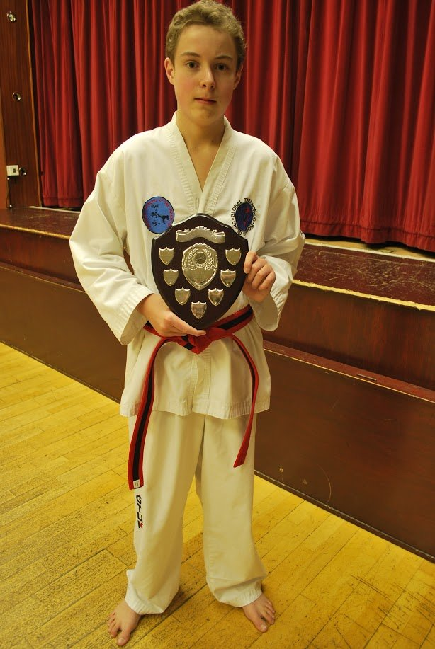 winner of martial arts competition