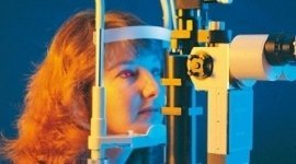 esame del bulbo oculare