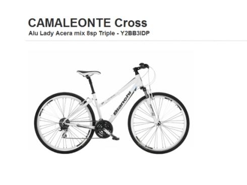 Camaleonte Cross