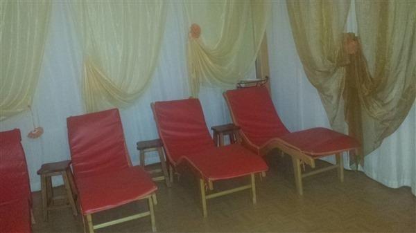 sala relax servizio sauna