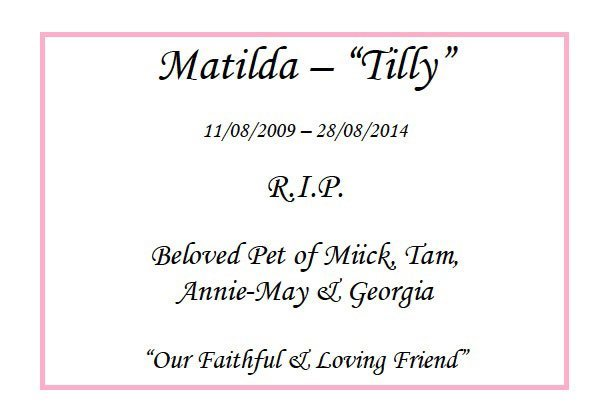 matilda tilly