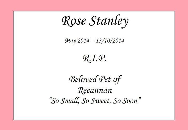 rose stanley