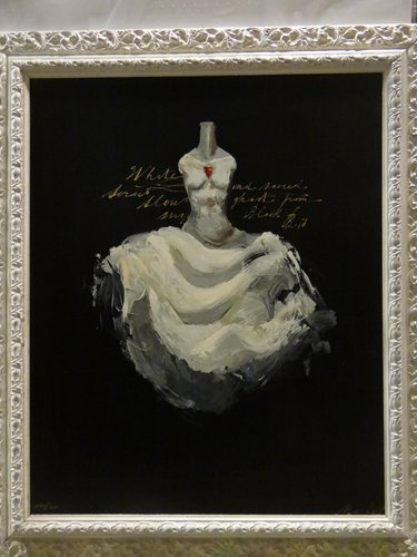 Serigrafie d'autore al laboratorio artigiano Dora' Graziano Cornici